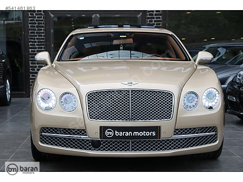 BARAN MOTORS 2014 BENTLEY FLYING SPUR W 12 MULLINER 23.000 KM