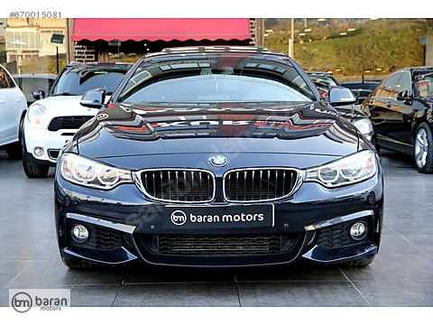 BARAN MOTORS 2015 BMW 4.18 GRAN COUPE M SPORT PLUS BOYASIZ