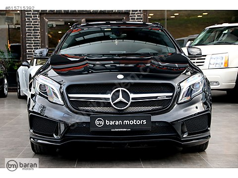 BARAN MOTORS 2015 MERCEDES GLA 45 AMG 4 MATIC BLACK EDITION BAYİ