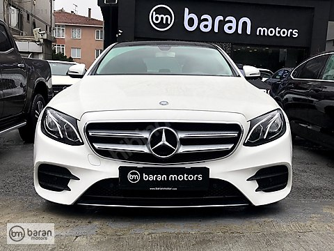 BARAN MOTORS 2016 MERCEDES E 200 AMG COMMAND PANORAMİK BAYİ