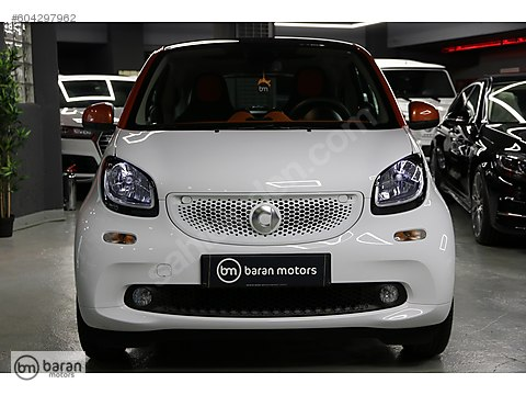 BARAN MOTORS 2016 SMART FORTWO PASSION BOYASIZ 14.000 KM.