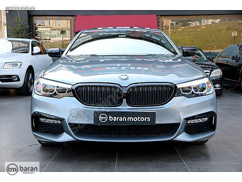 BARAN MOTORS 2017 BMW 5.30 I X DRİVE M SPORT+EXECUTİVE 19 JANT