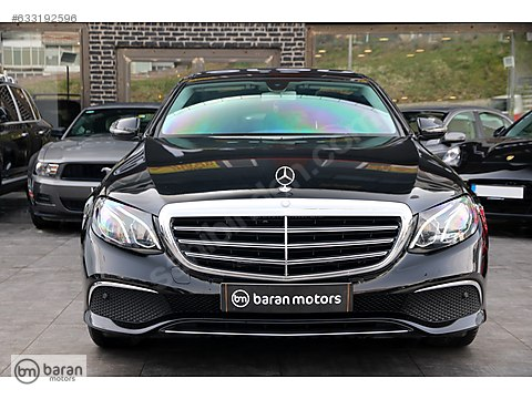 BARAN MOTORS 2017 E 180 EXCLUSIVE COMMAND PANORAMİK 7.000 KM