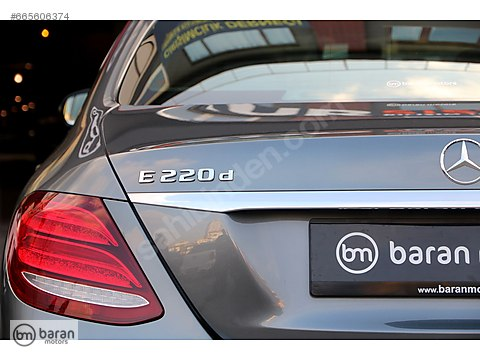 BARAN MOTORS 2017 E 220 D 4MATIC AMG COMMAND+PANORAMİK 11.000 KM